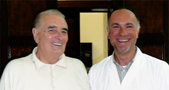Dott. Manani G. con il Dott. Monteggia