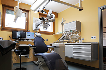 Sala per gli interventi odontoiatrici