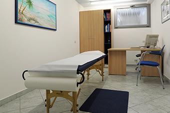 Sala per le terapie